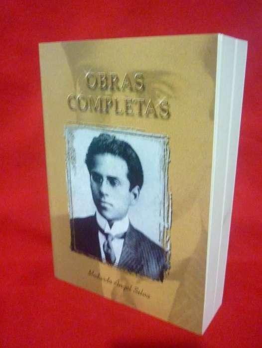 Libro Obras Completas Medardo Angel Silva más Envío más Regalo