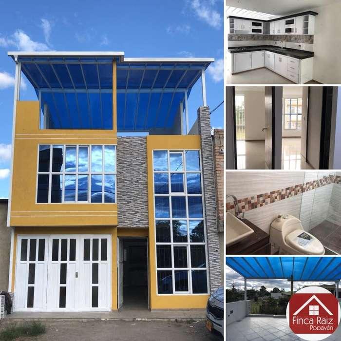 Se vende o permuta hermosa casa para estrenar al norte de la ciudad en Morinda