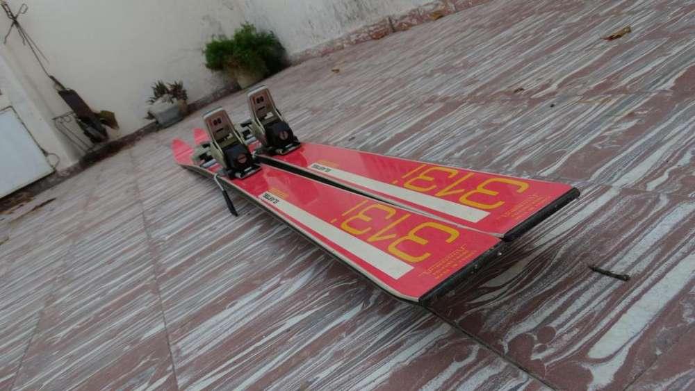 Esquíes Dynastar Sport Series 313i fijaciones Salomon usados en muy buen estado.
