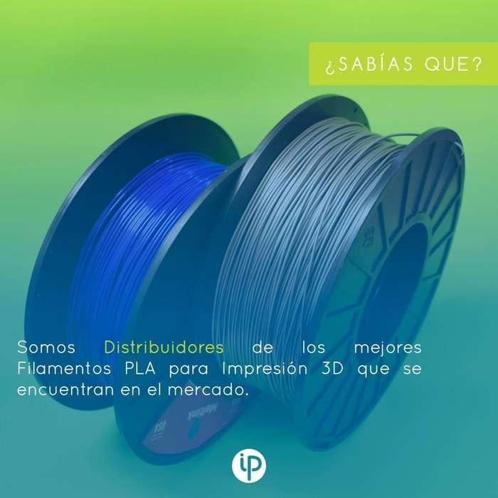 distribuidores de filamentos PLA