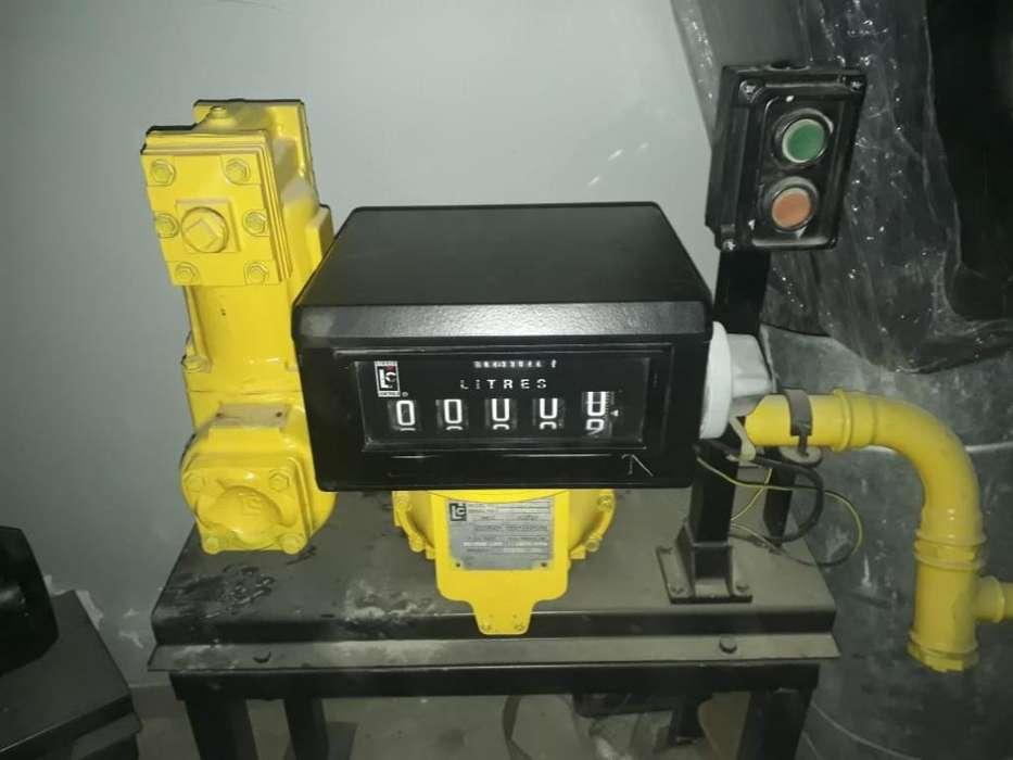 Caudalímetro de Fluidos Liquid Controls