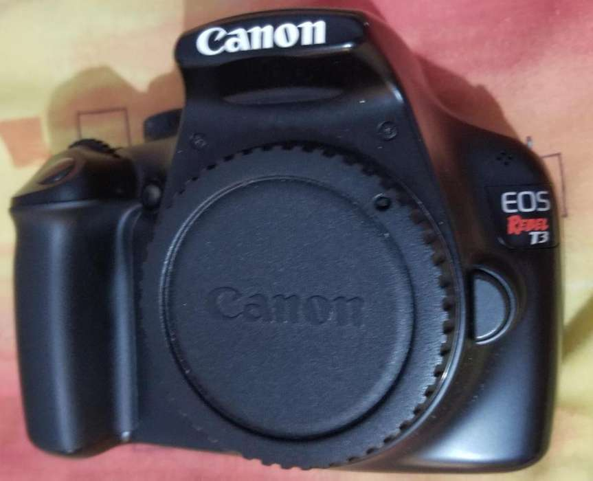 CANON EOS Rebel T3 Cámara Fotográfica/Vídeofilmadora
