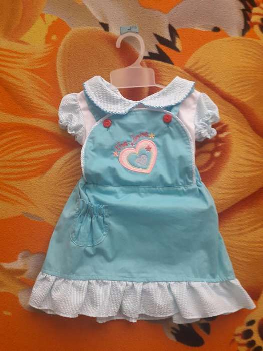 Vestido Azul Niña