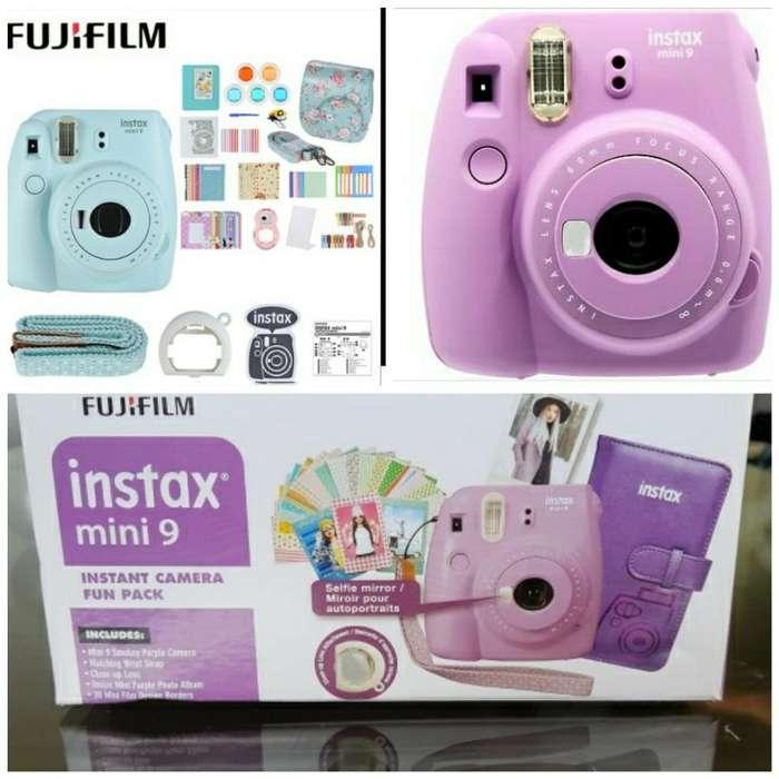 Kit de Cámara Instax Mini 9 Fujifilm