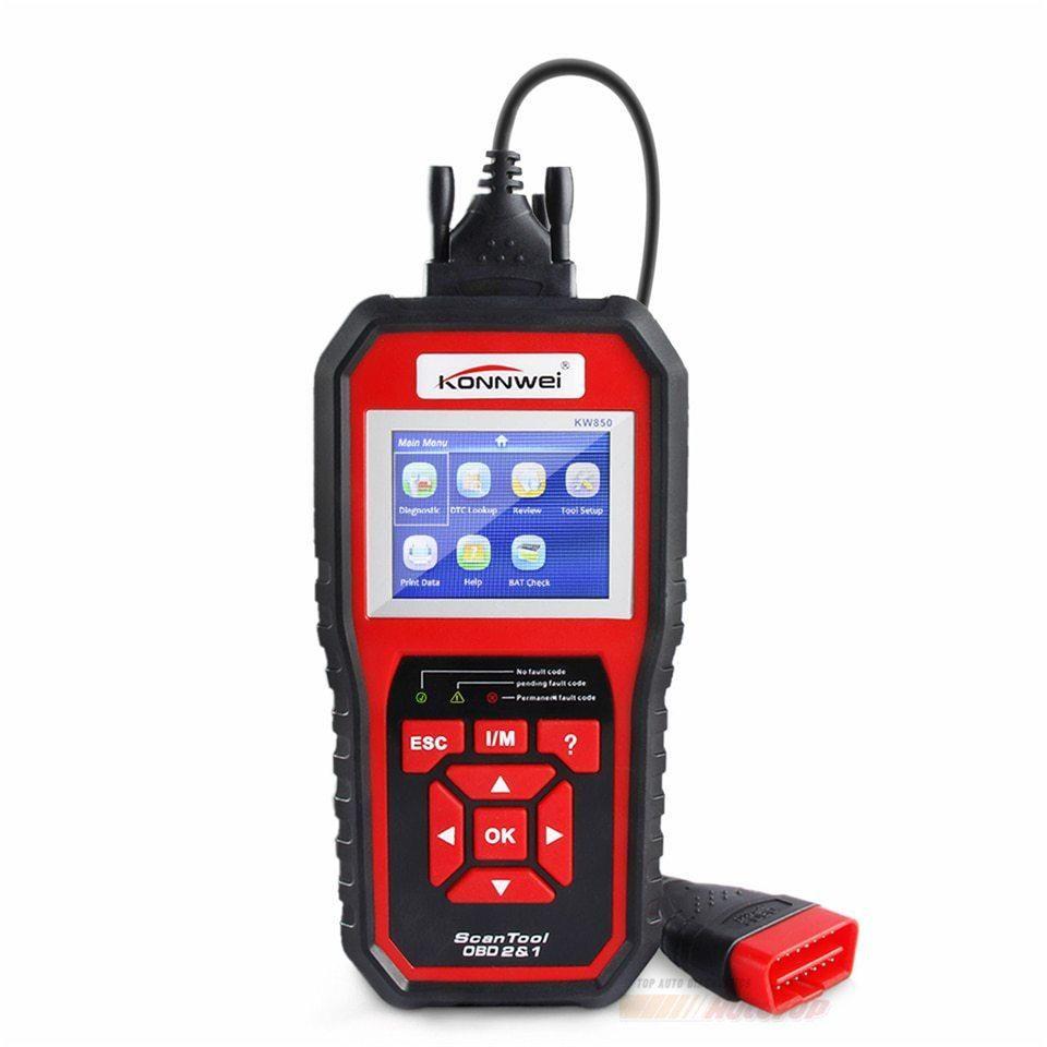 Escaner Para Carros OBD2 para Taller o uso personal Marca Konnwei KW850