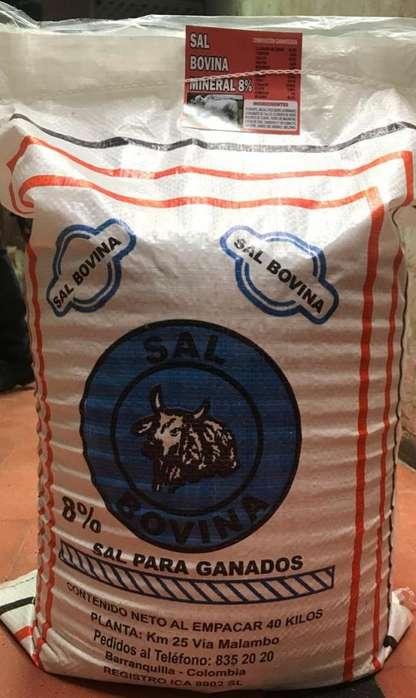 Sal Mineralizada Proteinizada