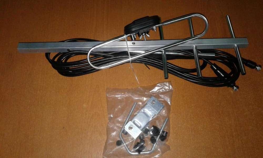 Antena Para Decodificador Tdt Tipo Espina De Pescado 7dbi