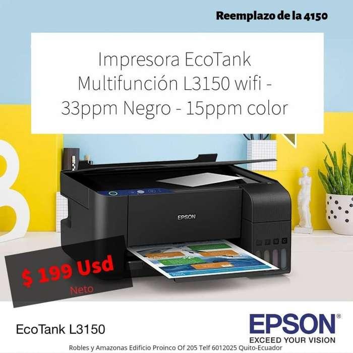<strong>impresora</strong> MULTIFUNCIONAL L3150