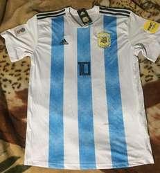 Camiseta Argentina Mundial 2018