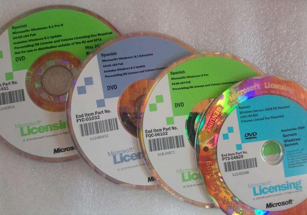 Cdd Originales Windows Y Otros 30