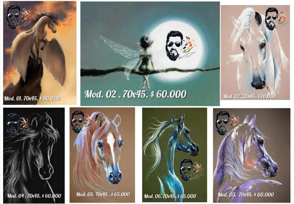 Cuadros Fantasía Arte Real