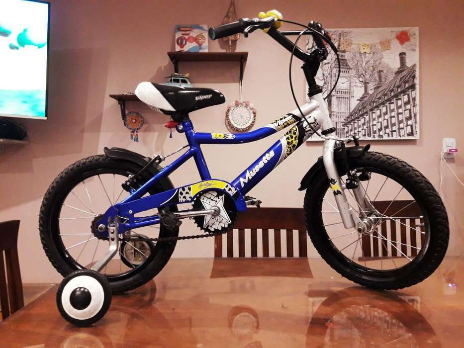 Bicicleta Bmx Marca Musetta Rodado 16
