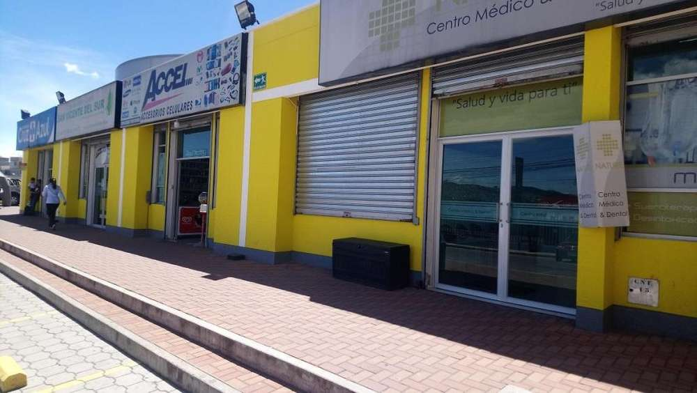 Arriendo local en Plaza SantaMaría Quitumbe