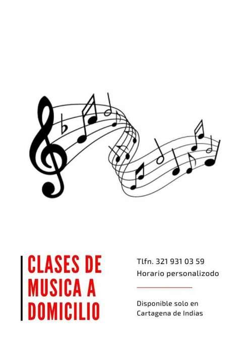 Clases de Musica a Domicilio en Cartagena