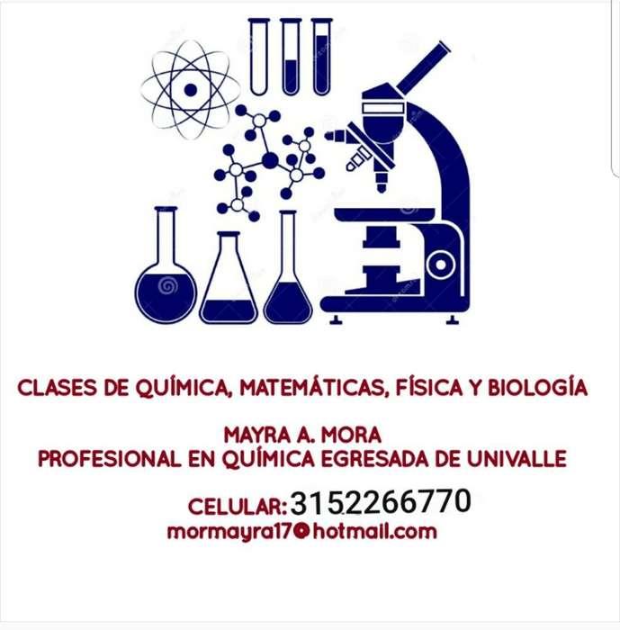 Clases de Matemáticas, Química Y Física