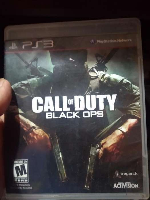 Call Of Duty Black Ops Play 3 Ps3