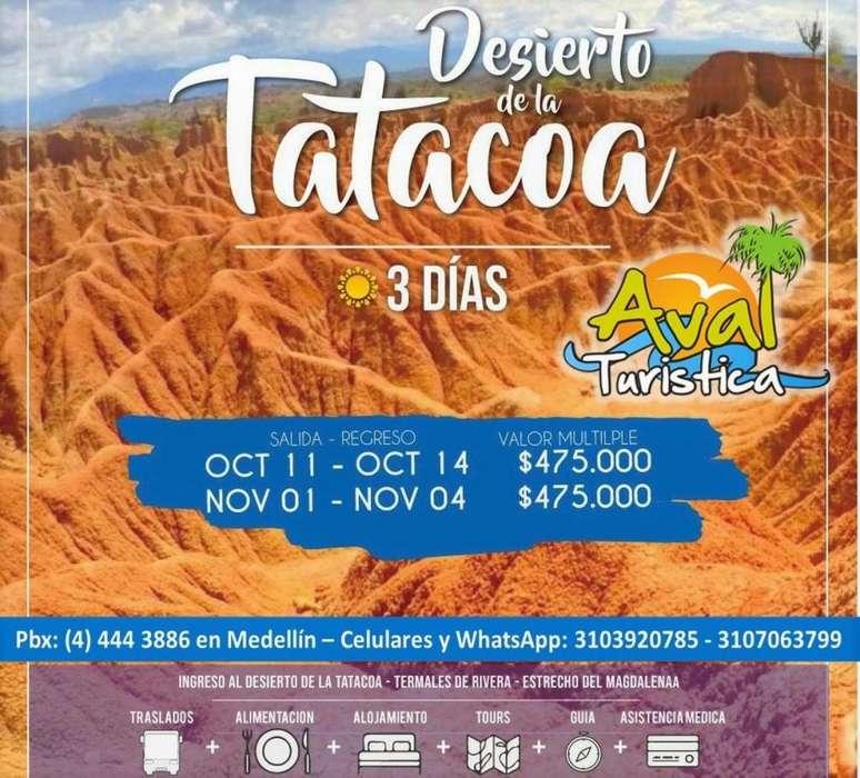 Excursiones al Desierto de la Tatacoa 11 al 14 de octubre (puente) desde 475.000 por persona
