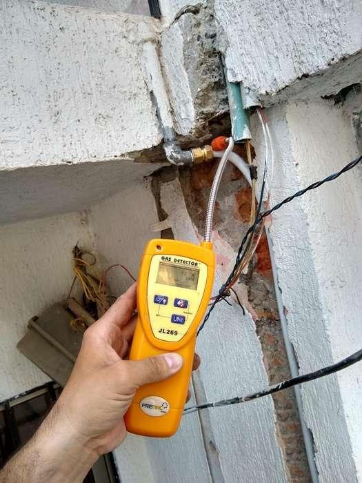 Reparación de Fugas en Instalaciones Gas
