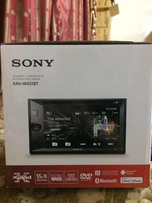 Autoradio Lcd Táctil 6.2 Sony Bluetooth/dvd/usb Xav-w651bt