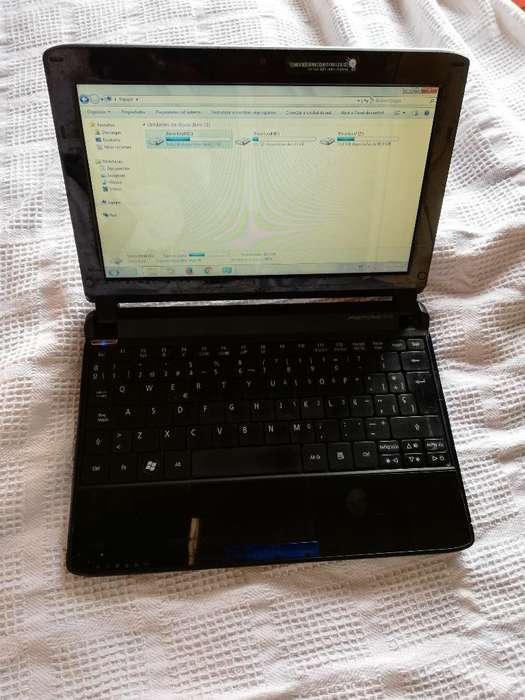 Portatil Mini Acer 250gb Vendo O Cambio