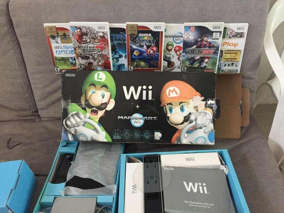 Nintendo Wii videojuegos