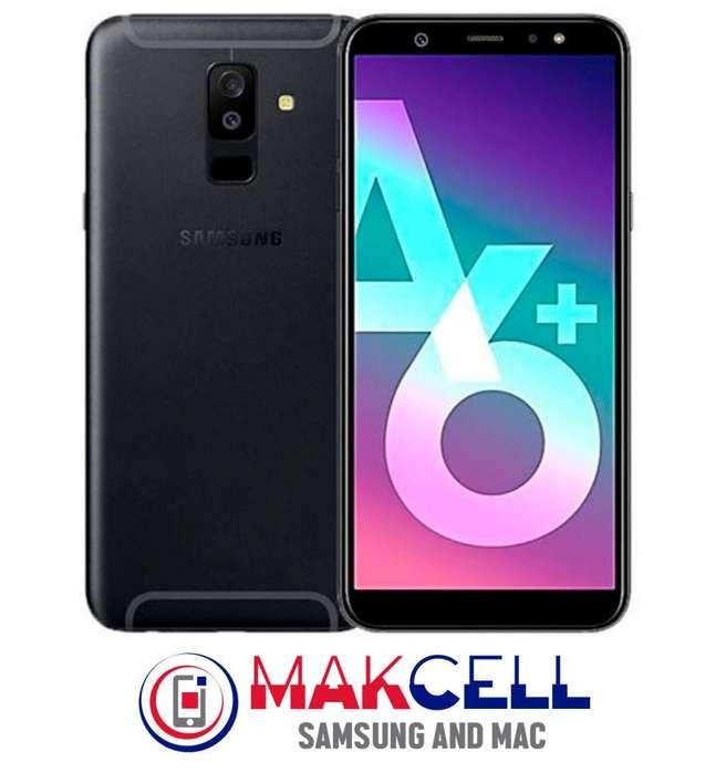 Samsung Galaxy A6 plus 32 GB 310 Mica, estuche y memoria de 16GB de regalo.