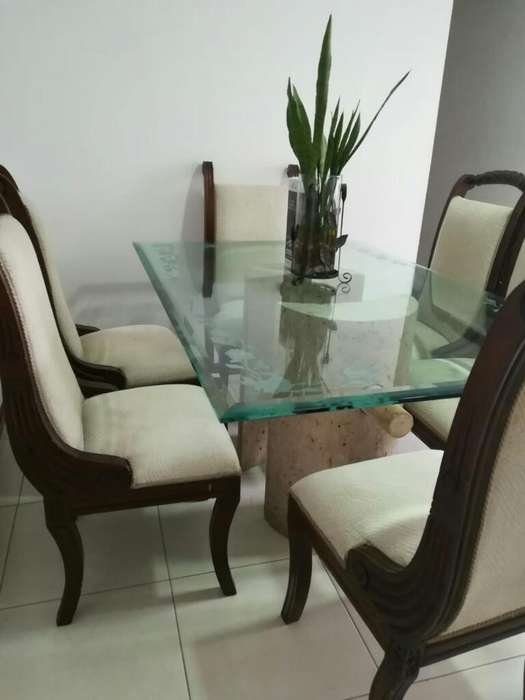 Comedores mesa en vidrio: Muebles en venta en Colombia | OLX