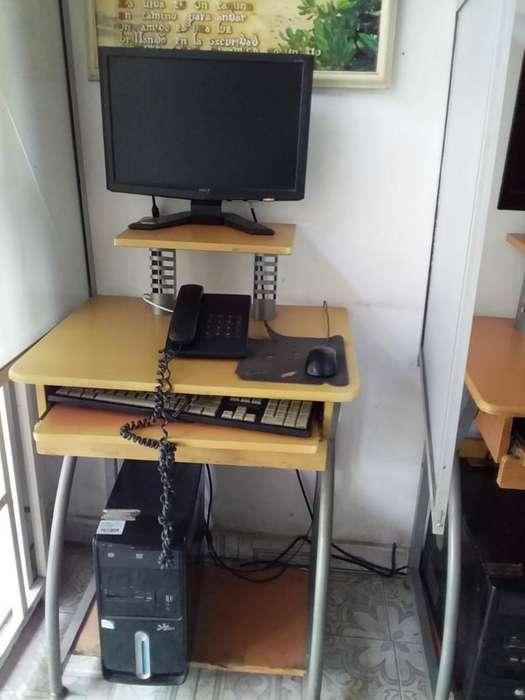 Torre Mouse Teclado Y Monitor