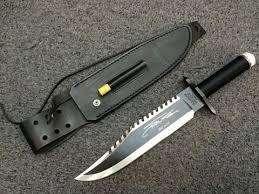 Cuchillo de Rambo/