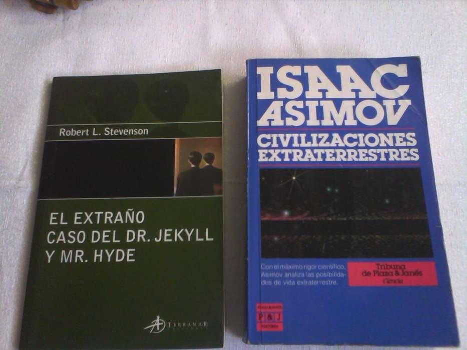 libro El extraño caso del Dr. Jekyll y Mr. Hyde y Civilizaciones extraterrestres