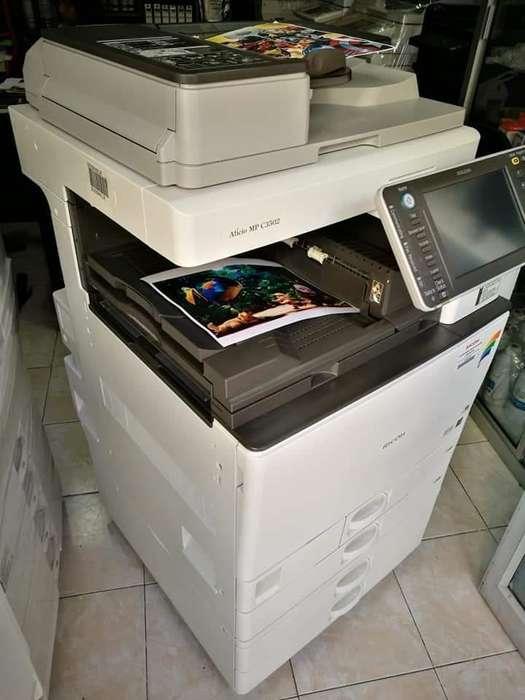 Fotocopiadora Ricoh Mpc3502 a Todo Color
