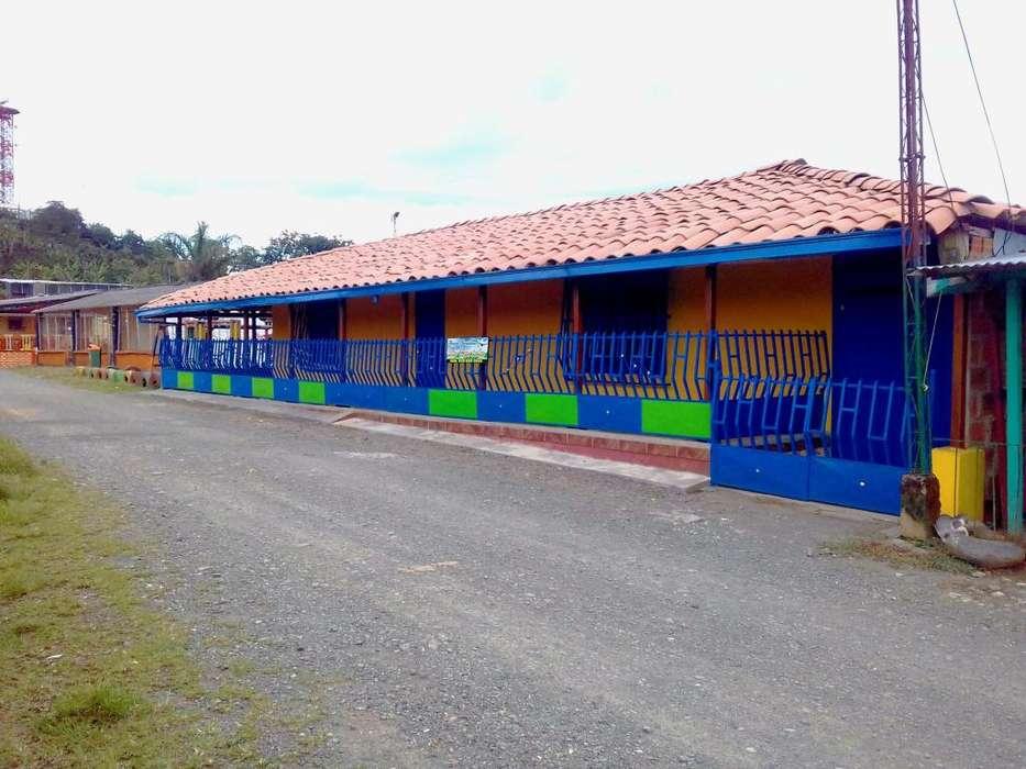 GANGA .CASA CAMPESTRE ( FINCA ) EN BELALCAZAR - CALDAS