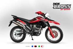 MOTOCICLETA CHACARERA Lineal New Bross P200  TODO TERRENO PREMIER