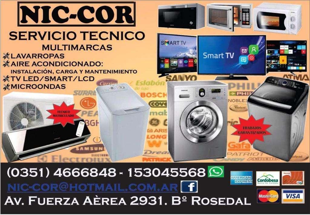 Aire Ac, Lavarropas, Microondas, Tv