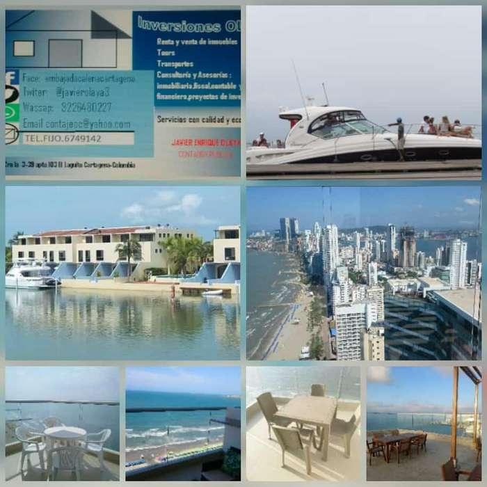 Renta de inmuebles en Cartagena y Santa Marta