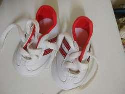 Zapatilla nueva Matito3 Blanca Roja16 Plantilla 11,5