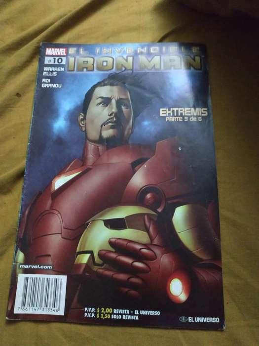 Lote Comics Avengers Y Iron Man