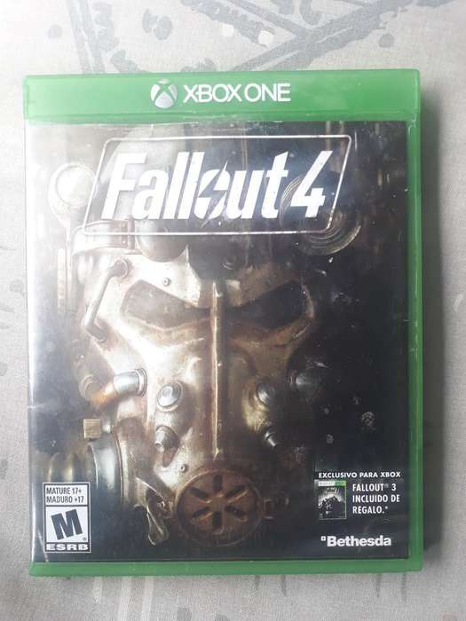Fallout 4, Xbox One, Poster Incluido