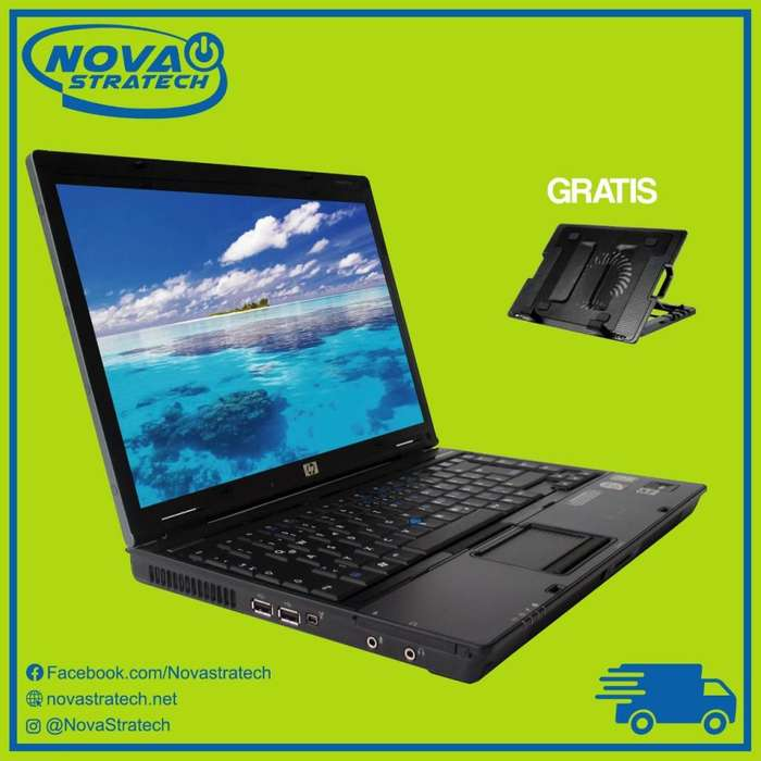 Laptop Completa Universitaria Hp con Base Enfriadora Gratis de Oferta Economica
