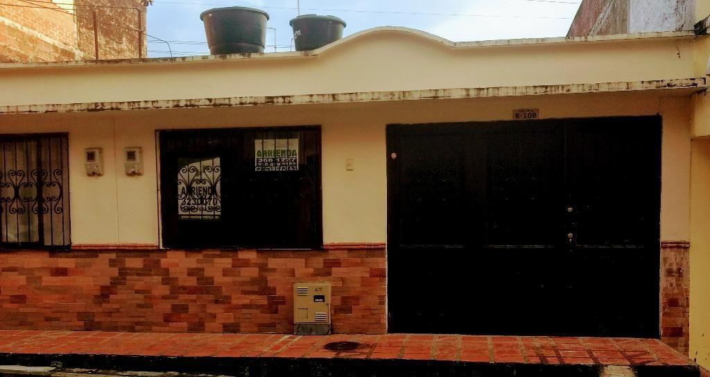 Se Renta Preciosa Casa de Un Solo Piso
