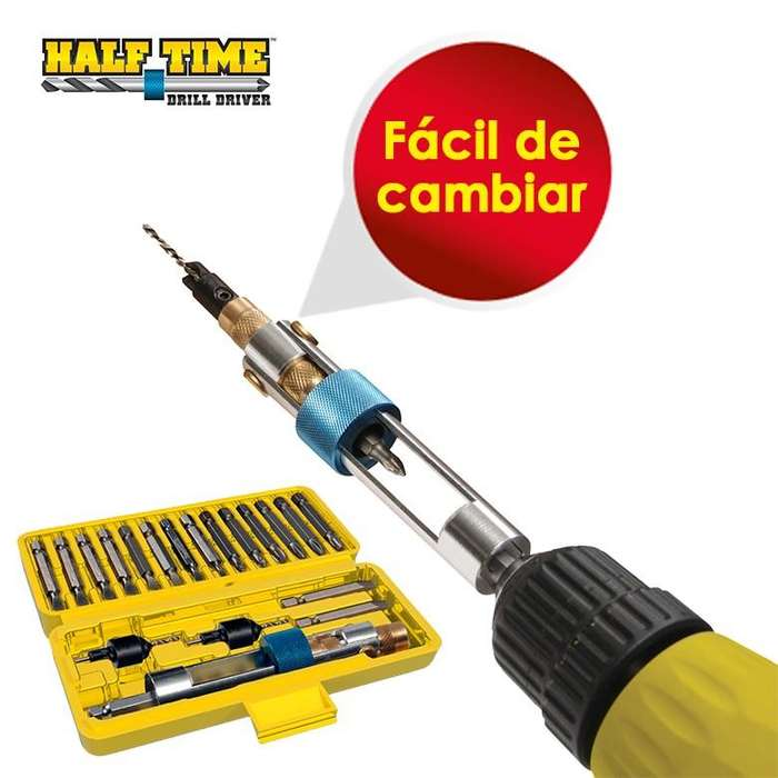 Adaptador Para Taladro Drill Destornillador Gruponatic San Miguel Surquillo Independencia La Molina Whatsapp 941439370