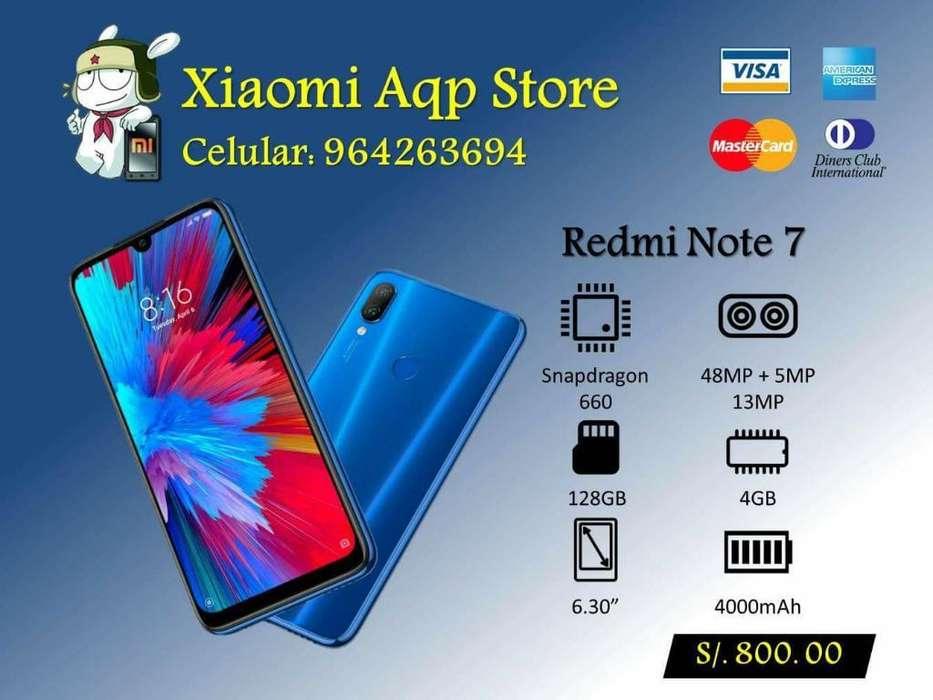 Xiaomi Redmi Note 7 4gb Ram 128gb Oferta