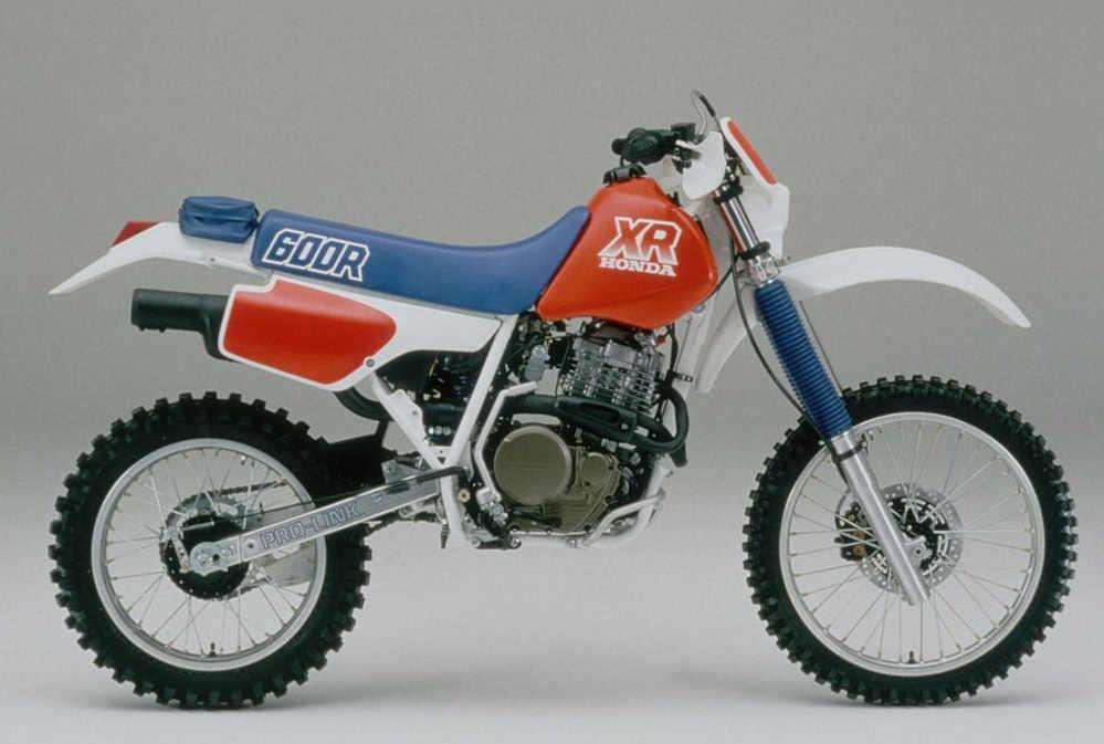 Honda Xr 600 manual de taller para motos Honda