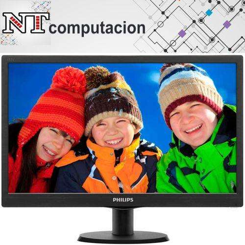 <strong>monitor</strong> Led 18.5 Philips 193v5lhsb2/55 - Hd, Vga-hdmi, 16:9