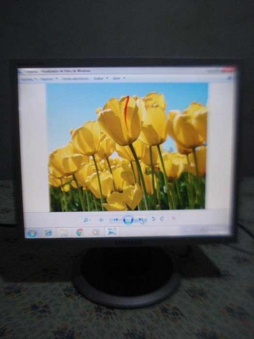 Monitor Color Lcd 17 Samsung Cuadrado Sync Master 740n Excel