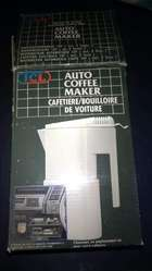 cafetera para el Auto 12v auto coffee maker. NUEVA