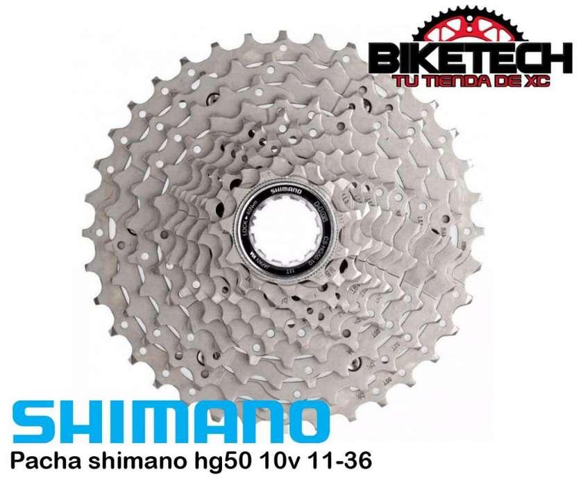 Pacha Cassette 10v 1136 Shimano Hg50
