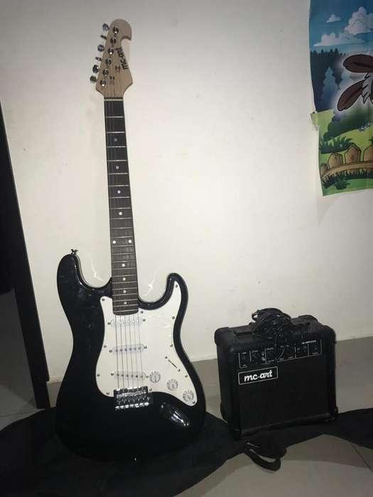Se Vende Guitarra Eléctricaamplificador