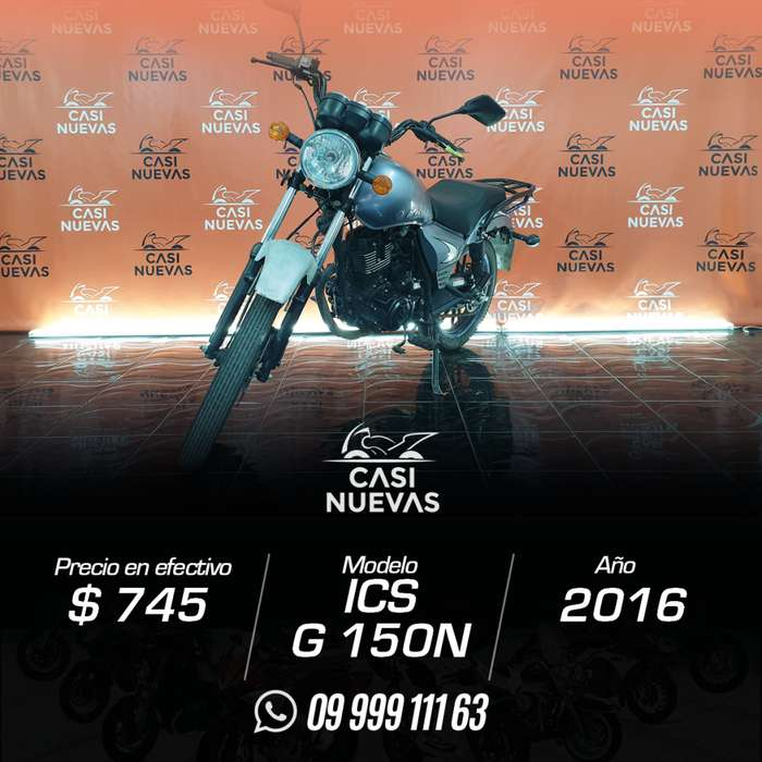 Motocicleta ICS 6150N
