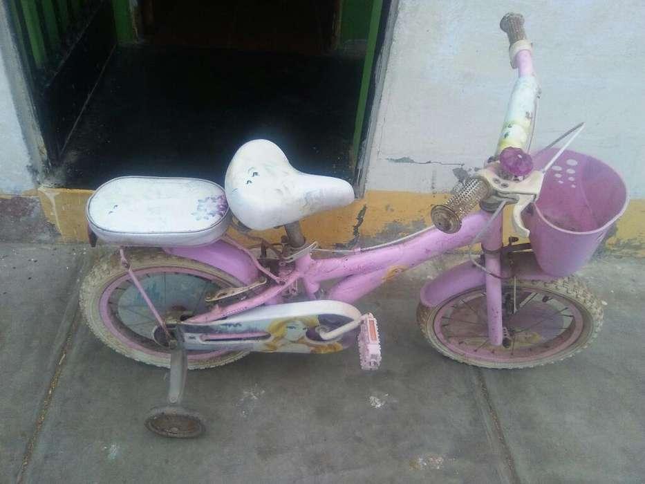 Biscicleta Disney para Niña